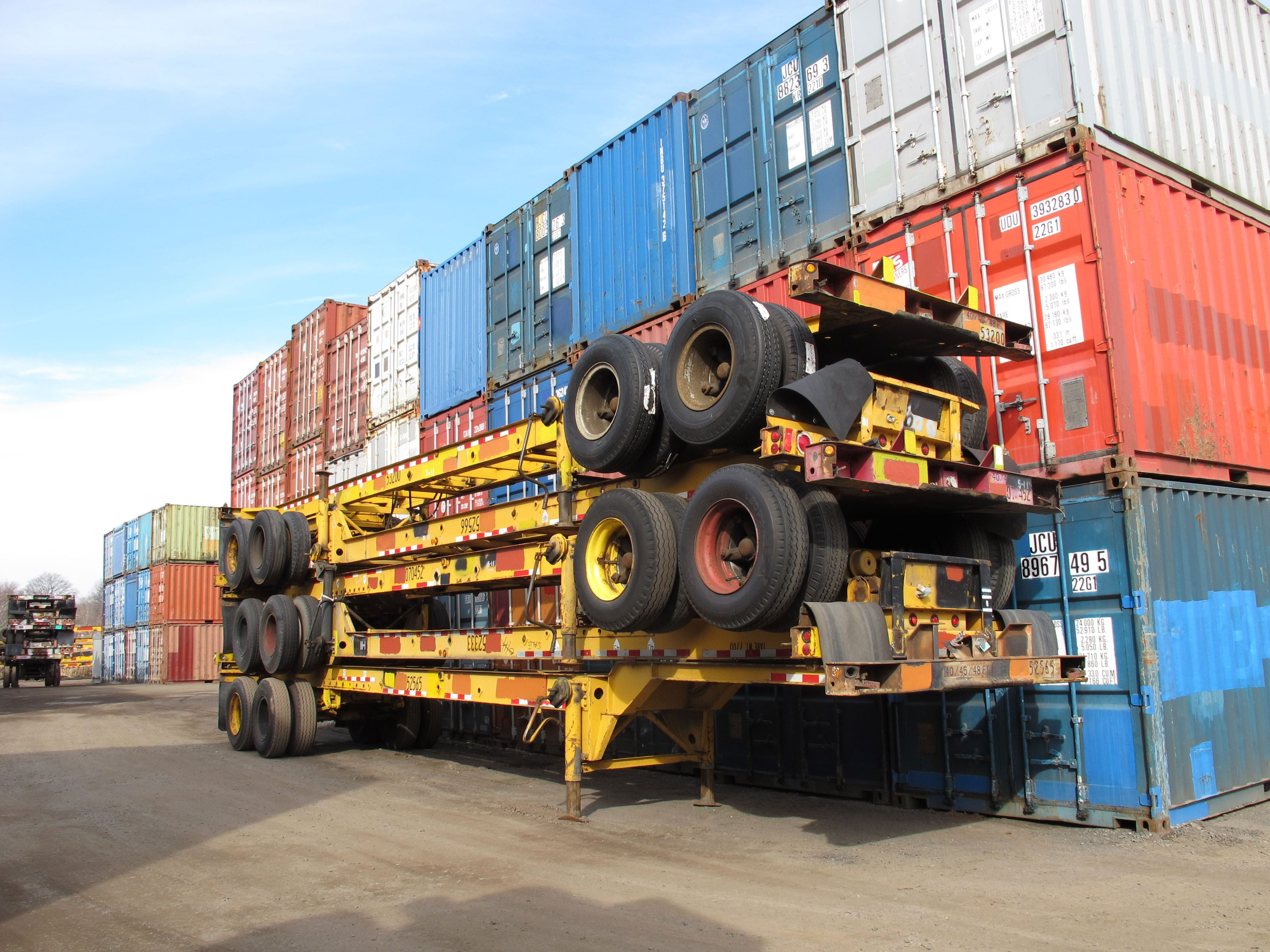 TRS Containers your source for chassis sales, rental and repairs
